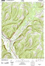 Topographic Map Poster - Savona, NY TNM GEOPDF 7.5X7.5 Grid 24000-SCALE TM 2011, 24