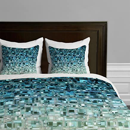 Deny Designs  Lisa Argyropoulos Thirst Duvet Cover,  Queen