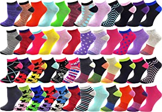 48 Pairs Womens Low Cut Ankle Socks, Comfortable...