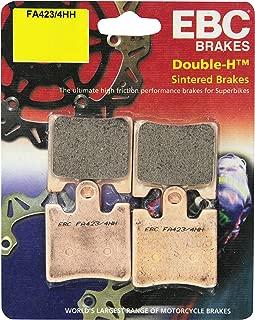 ECCPP FA261 Brake Pads Front Kevlar Carbon Fiber Replacement Brake Pads Kits Fit for 2008-2016 Victory Vision,1996-2010 2012-2014 Honda