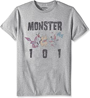 Nickelodeon Men's Aaahh Real Monsters Short Sleeve Graphic T-Shirt