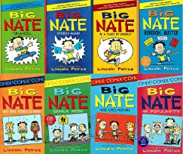 BIG Nate 8 Book Set: On a Roll, Strikes Again, in a Class By Himself, Boredom Buster, Here Goes Nothing, Mr. Popularity, Genius Mode, What Could Possibly Go Wrong?