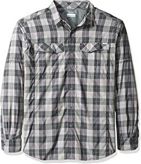 Columbia Camisa de Manga Larga a Cuadros Silver Ridge para Hombre