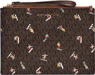 Michael Kors Aspen Clutch Wallet Wallet Wristlet MK Logo