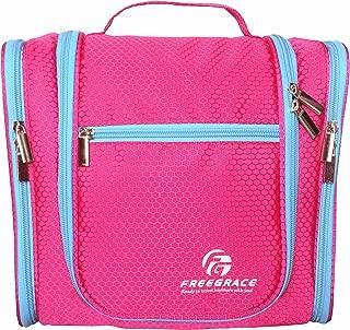 Hanging Toiletry Bag - Premium Extra-Large Capacity Travel Essentials Organizer for Men & Women - Durable Waterproof Nylon Bathroom/Shower/Makeup Bag - For Cosmetics, Personal Items, Shampoo