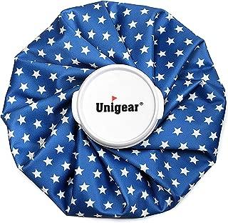 Unigear 氷のう アイシングバッグ 結露なし アイスバッグ ケガ アイシング用品 運動後 クールダウン 家庭常備品 5色 S/M