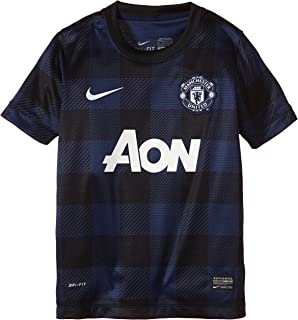 NIKE Manchester United Away Soccer Jersey Youth. (Small)