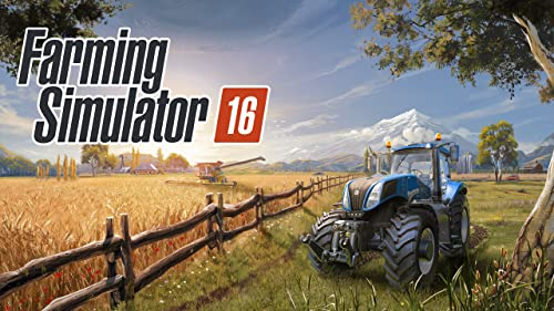 『Farming Simulator 16』のトップ画像
