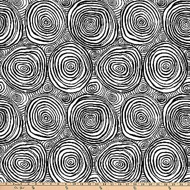 FreeSpirit Fabrics Kaffe Fassett Collective for FreeSpirit Onion Rings, Black Yard