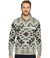 Lucky Brand - Shearless Fleece Mock Neck Sweatshirt
