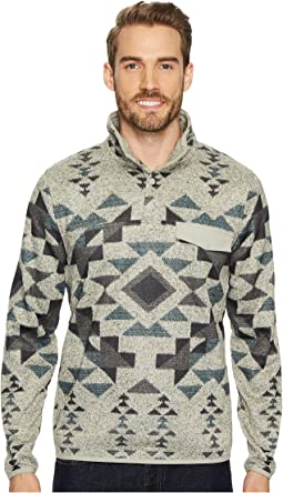 Lucky Brand - Shearless Fleece Mock Neck Sweatshirt