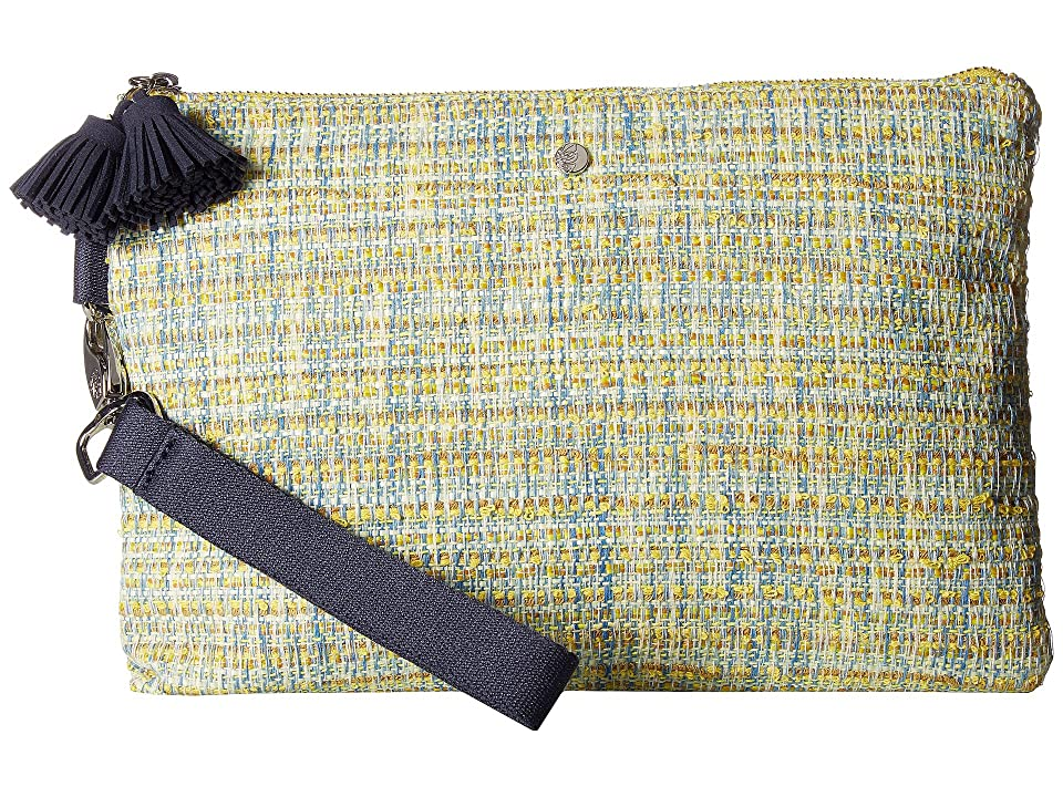 Tommy Bahama Mylos Wristlet Clutch (Yellow) Wristlet Handbags