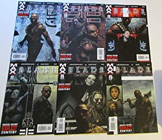 Blade MAX Issues 1-6 Complete Mini Series