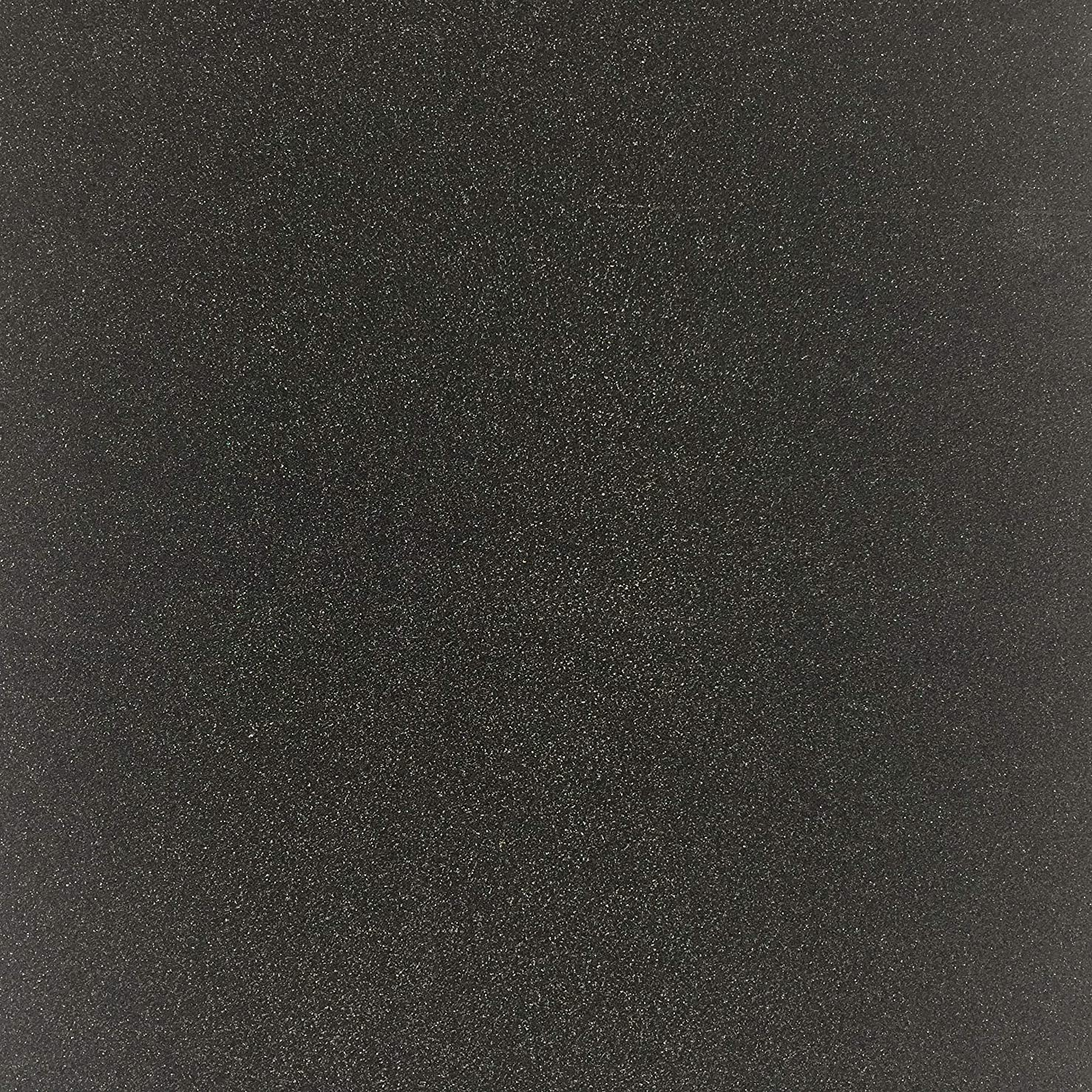 TooMeeCrafts 12-Inch by12-Inch Glitter Cardstock, Black Color,Pack of 15