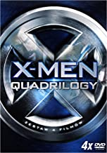 X-Men Quadrilogy: X-Men / X-Men 2 / X-Men: Ostatni Bastion / X-Men Geneza: Wolverine BOX [4DVD] (English subtitles)
