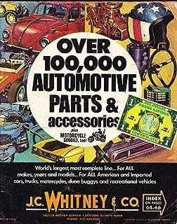 J.C. Whitney Automotive Parts Catalog 1972 (Over 100,000 Automotive Parts & Accessories)