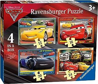 Ravensburger 6894 Disney Pixar Cars 3 - 4 In A Box Jigsaw Puzzles