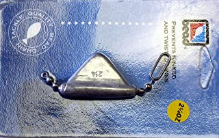 Bead Chain DR214K 2 1/4-Ounce Keel Sinker, Pack of 1, Dark Nickel Finish