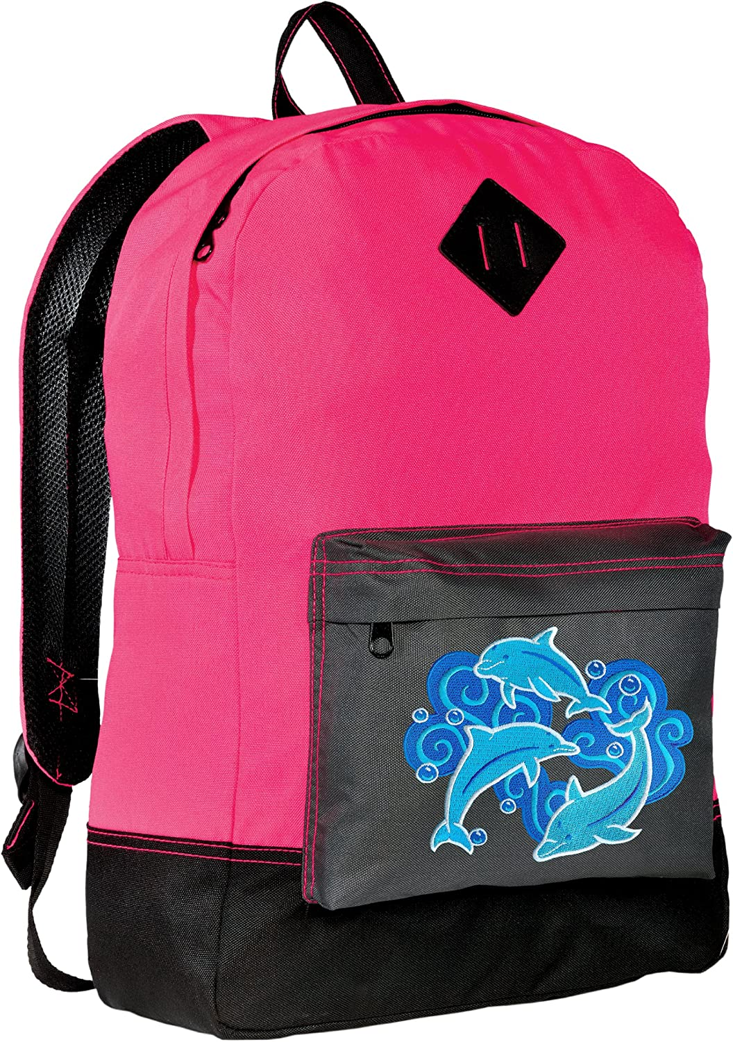 Dolphins Backpack CLASSIC STYLE safety Backpacks Visibilit High Los Angeles Mall Dolphin