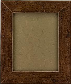Craig Frames FM74DKW 16 by 20-Inch Rustic Wall Decor Frame, Smooth Grain Finish, 2-Inch Wide, Dark Brown