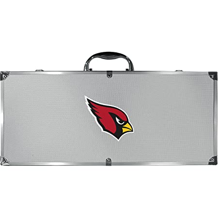 Siskiyou Sports NFL Unisex Steel Tailgater BBQ Set w/Case