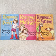 Set of 3 Beverly Cleary Ramona The Brave, Ramona The Pest, Ramona and Her Mother 2006