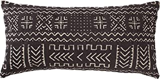 Rivet Mudcloth-Inspired Decorative Throw Pillow, 12