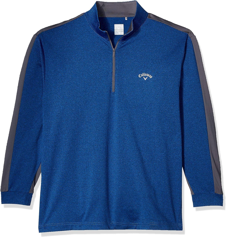 Callaway Herren Long Sleeve Fineline Solid Jacket Jacke