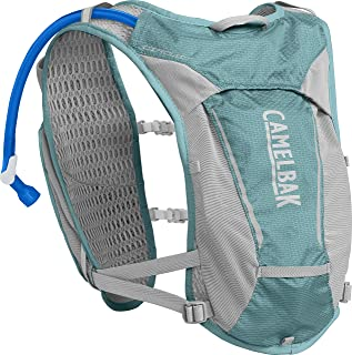 CamelBak Women's Circuit Running Hydration Vest - Running Accessories - 3D Micro Mesh - Dual Adjustable Sternum Straps - Secure Phone Pocket - Running Vest - 34 Ounce