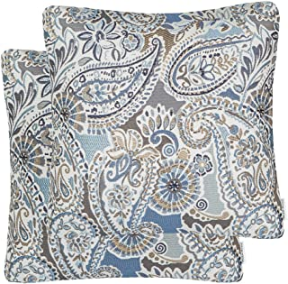 71042ef2422 Mika Home Pack of 2 Decorative Accent Throw Pillow Cover Sham Cushion Case