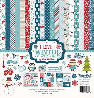 Echo Park Paper Company Love Winter Collection Kit