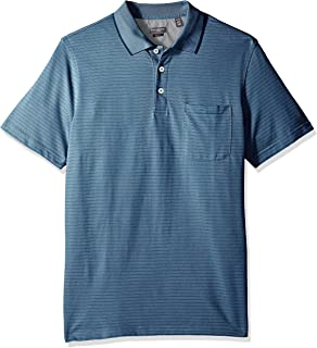 Van Heusen Men's Jacquard Short Sleeve Polo