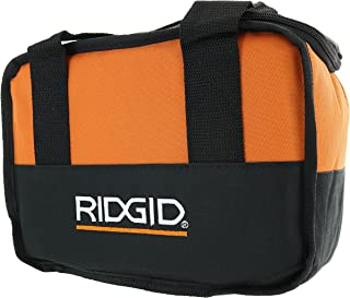 Ridgid Genuine OEM Soft-Sided Heavy Duty Cross X-Stitched Contractor's Tool Bag for 12V Tools (10 Inches x 7 Inches x 5 In...