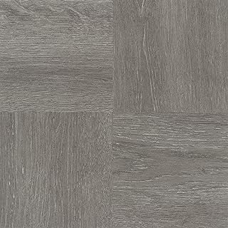 "Achim Home Furnishings FTVWD22920 Nexus Self Adhesive 20 Vinyl Floor Tiles, 12"" x 12"", Charcoal Grey Wood, Count"