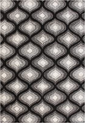 Git Mit Home 40085-108-GMH Area Rugs, Black Blend