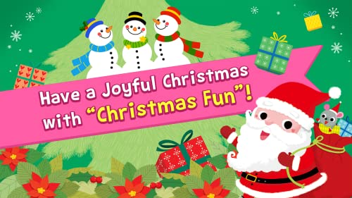 『Pinkfong Christmas Fun: 赤ちゃん・幼児・子供向けのクリスマス歌、ゲーム、カメラ、知育』の6枚目の画像