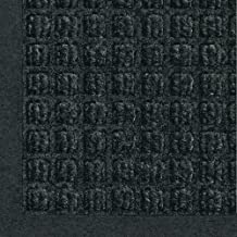 WaterHog Fashion Commercial-Grade Entrance Mat, Indoor/Outdoor Charcoal Floor Mat 6' Length x 4' Width, Charcoal by M+A Matting