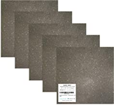 grey sparkle vinyl