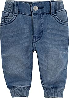 Levi's Baby Boys Jogger Pants, Sea Salt, 18M