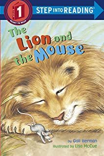The Lion And The Mouse: Step Into Reading 1