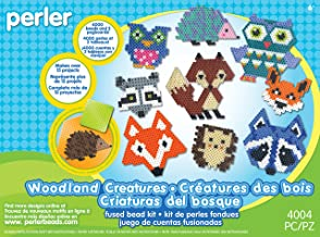 Perler Beads Woodland Creatures Animal Pattern Crafts for Kids, 4004 pcs