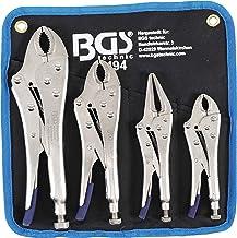 BGS 494 | Griptangenset | 4-delig | Griptang 140 / 185 / 220 mm | Langbeck Griptang 175 mm | incl. tas