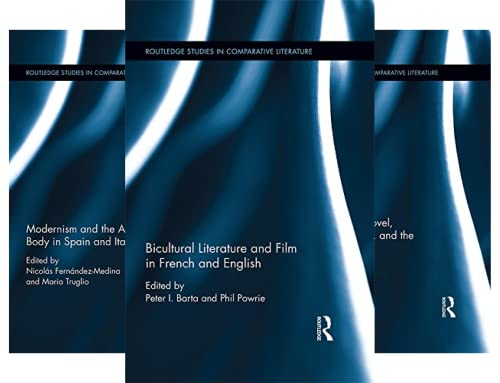 Routledge Studies in Comparative Literature (18 Book Series)