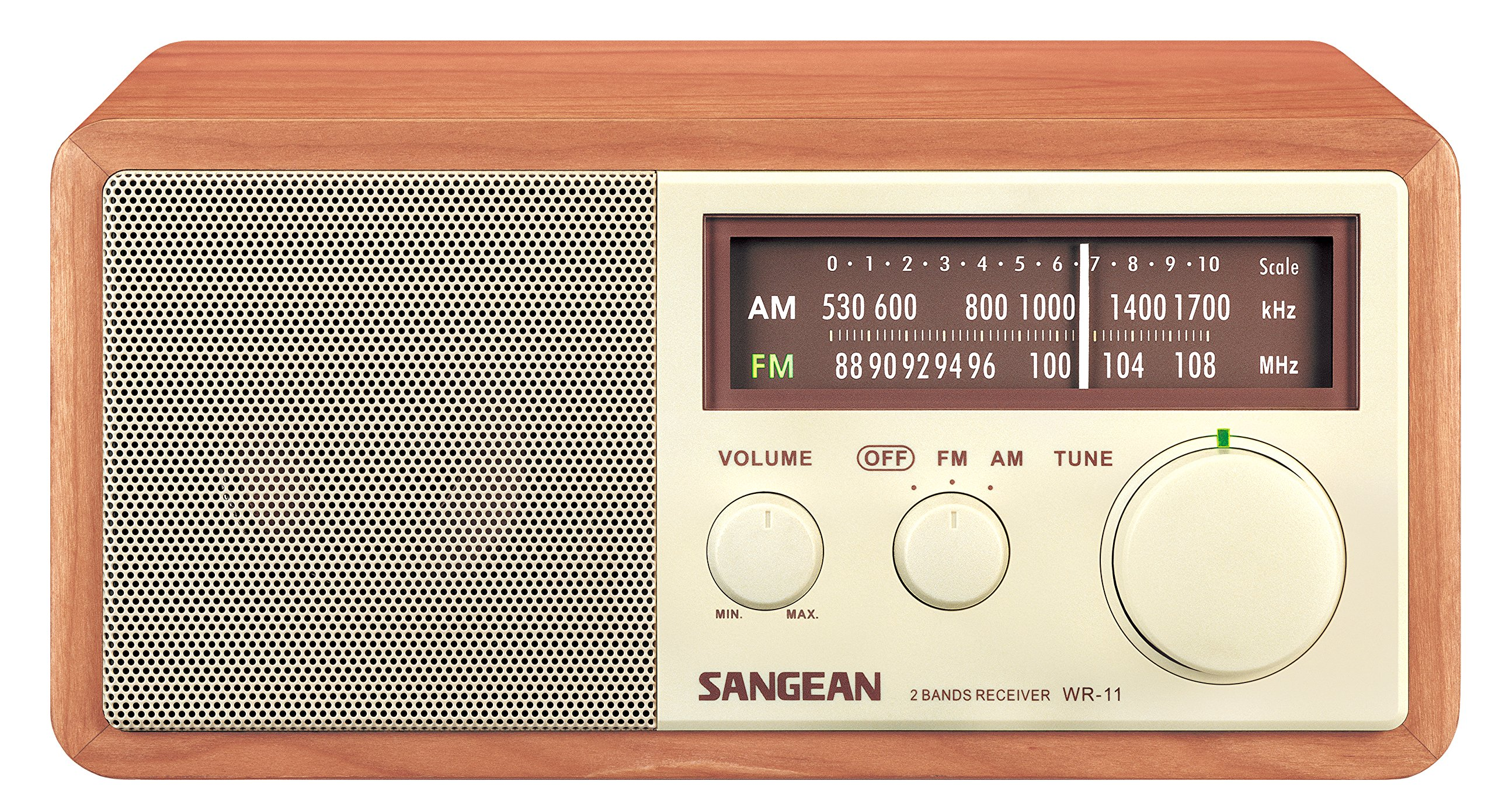 Sangean WR 11 Cabinet Table Analog