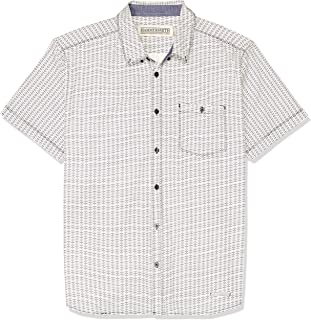Hammersmith Men's Imperial Short Sleeve Shirt, White