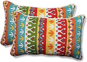 Pillow Perfect Outdoor/Indoor Cotrell Garden Rectangular Throw Pillow (Set of 2)