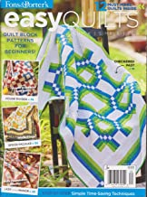 Fons & Porter's Easy Quilts Magazine Fall 2016