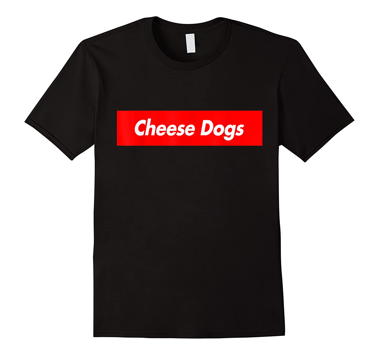Cheese Dogs Red Box Logo Funny Shirts