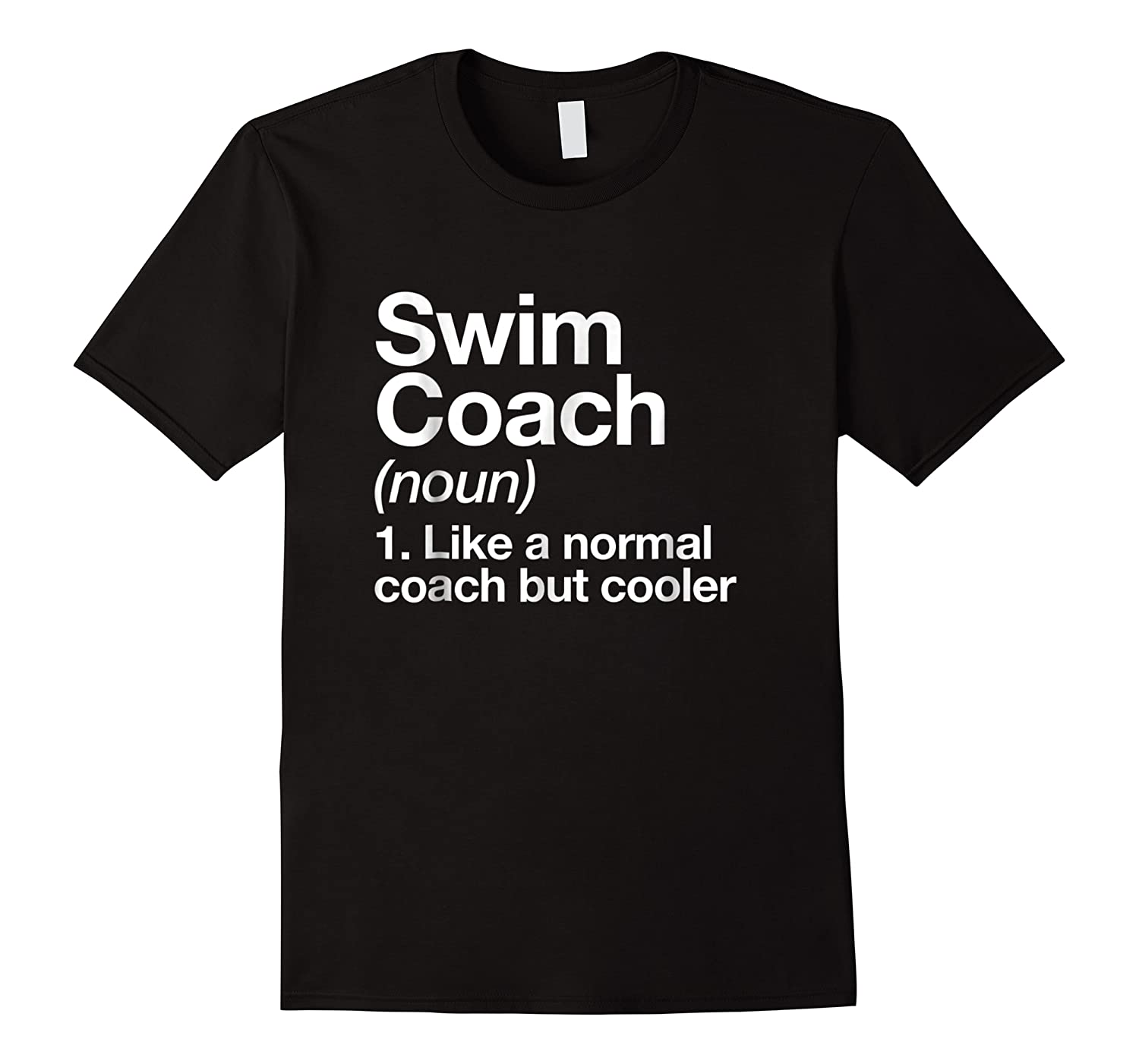 Swim Coach Funny Definition Trainer Gift Shirts