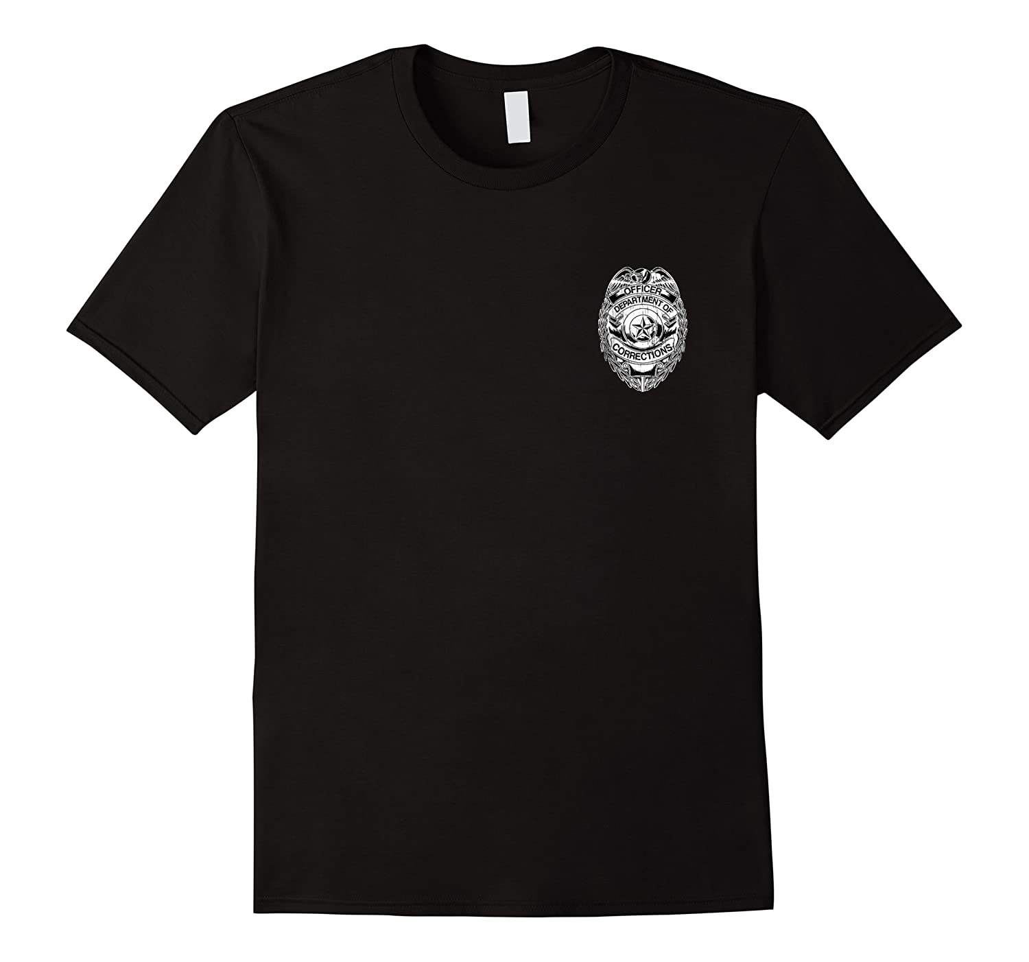 Corrections Officer Badge Shirt Departt Of Gifts